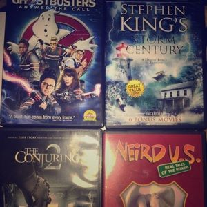 Four DVD 📀 Movies never used